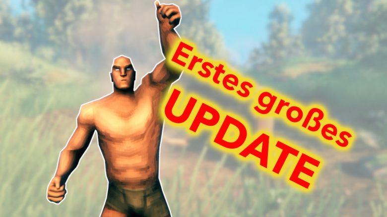 Valheime rstes Update Titel