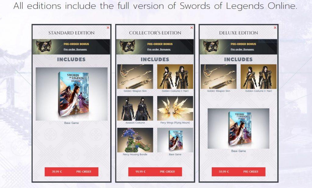 Das Bild zeigt die Inhalte der drei unterschiedlichen Spiel-Editionen von SOLO.