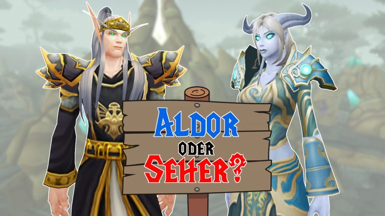 WoW BC Classic Aldor oder Seher Titel