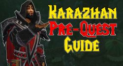 So startet und beendet ihr die Karazhan-Prequest in WoW Burning Crusade Classic