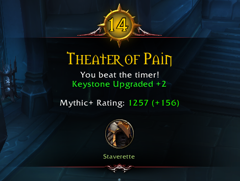 WoW Mythic Plus Rating 2