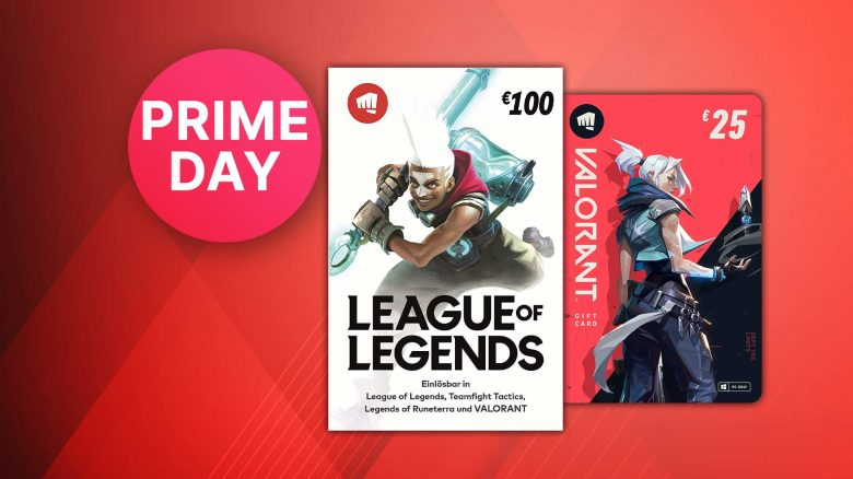 Amazon Prime Day Angebote: Riot Points für LoL zum Spitzenpreis