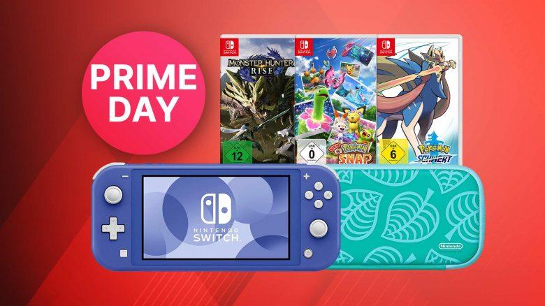 Amazon Prime Day: Angebote für Nintendo Switch – Spiele, Konsole & Zubehör