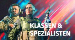 Alle 10 Klassen-Spezialisten von Battlefield 2042 und was sie drauf haben