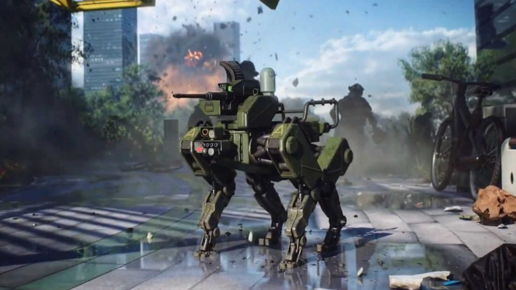 battlefield 2042 robohund!!!