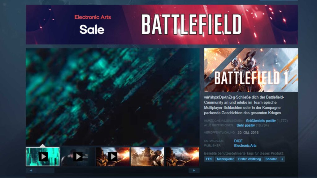 battlefield 6 zeigt teaser auf steam