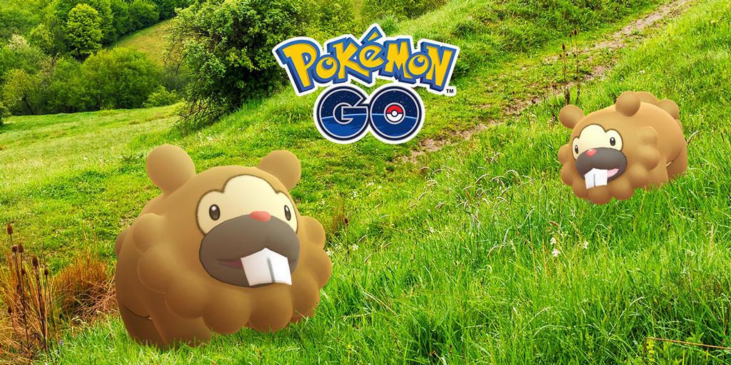 Pokémon GO Bidiza EP sammeln