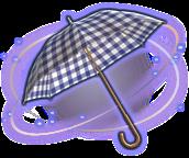 ffxiv blau karierter sonnenschirm