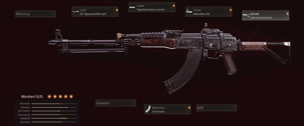 cod warzone beste kd setups ak-47 cold war