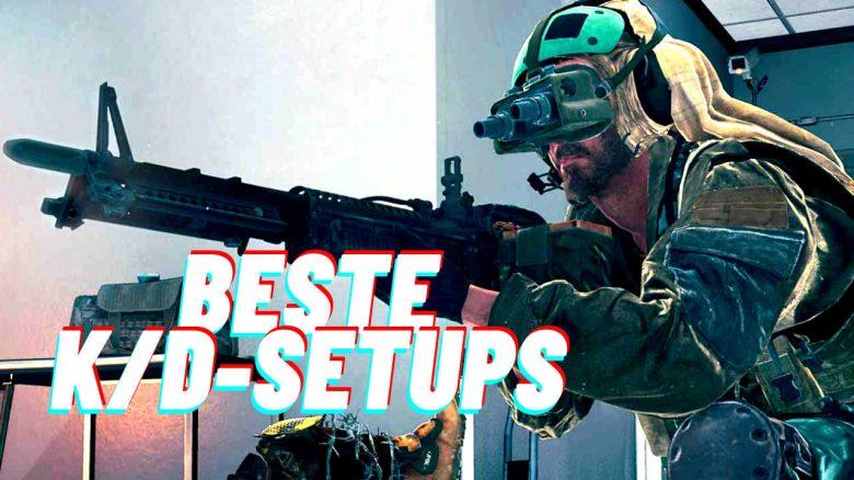 2 Waffen-Setups für Sturmgewehre in CoD Warzone, mit den besten K/D-Werten im Spiel
