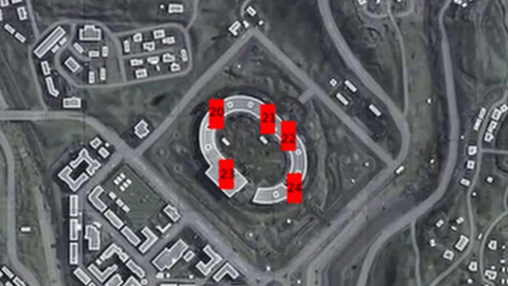 cod warzone rote türen 20 - 24 bei stadium