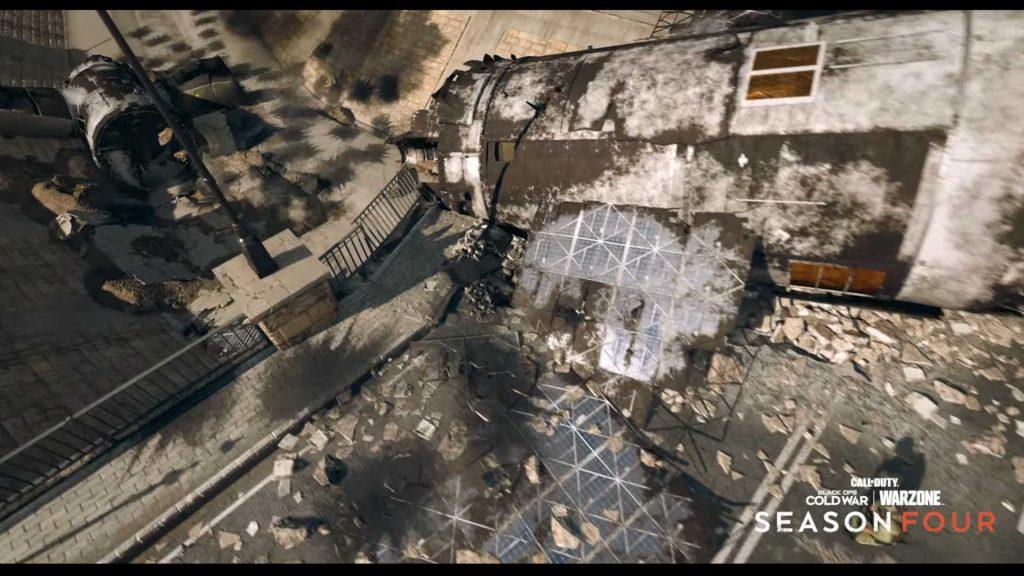 cod warzone satelitten brücke