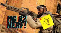 Update nerft OP-Waffe MG 82 in CoD Warzone – Totenstille und Nagelpistole als Nächstes dran