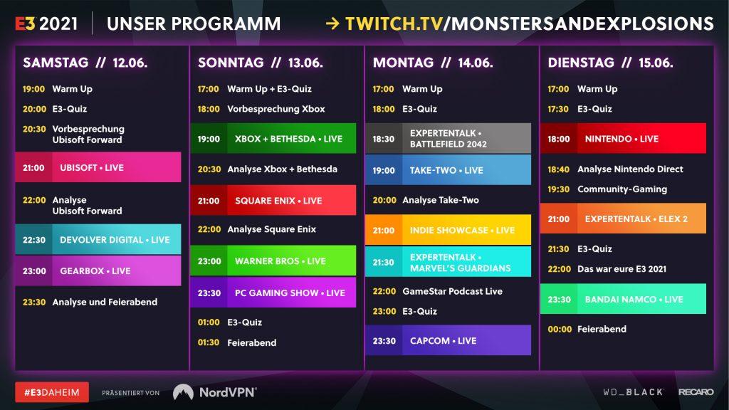 e3 2021 streaming plan 5