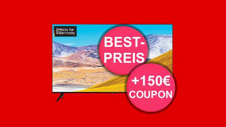 82-Zoll-TV von Samsung mit Geschenk zum Tiefstpreis bei Mediamarkt.de