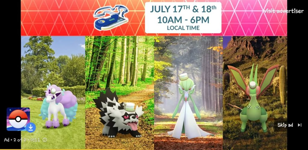 Pokemon Go - Kostüme Go Fest 2021