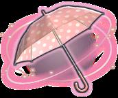 ffxiv rosa-weiß gepunkteter sonnenschirm