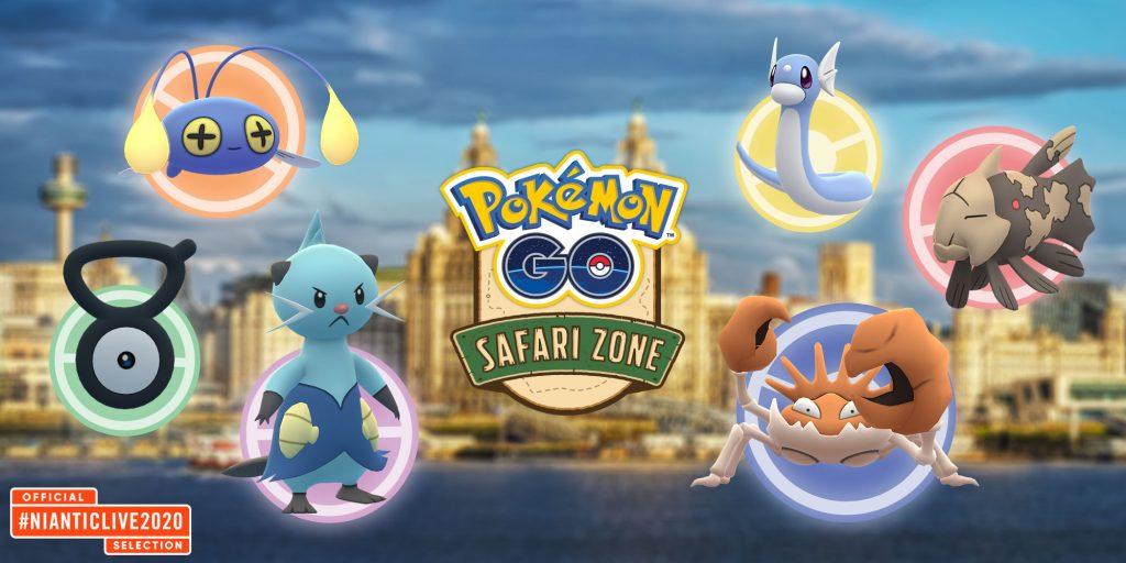 Pokémon GO - Pokémon Safari-Zone 2020