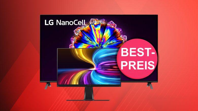 Top Gaming-Monitor und LG Nanocell-TV zum Tiefstpreis bei Amazon