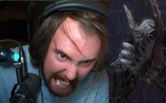Asmongold Final Fantasy angry titel title small