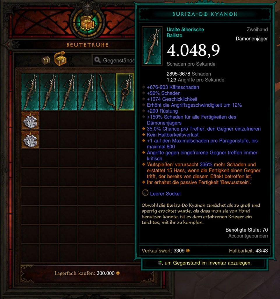 Diablo 3 Ätherische Waffe Season 24