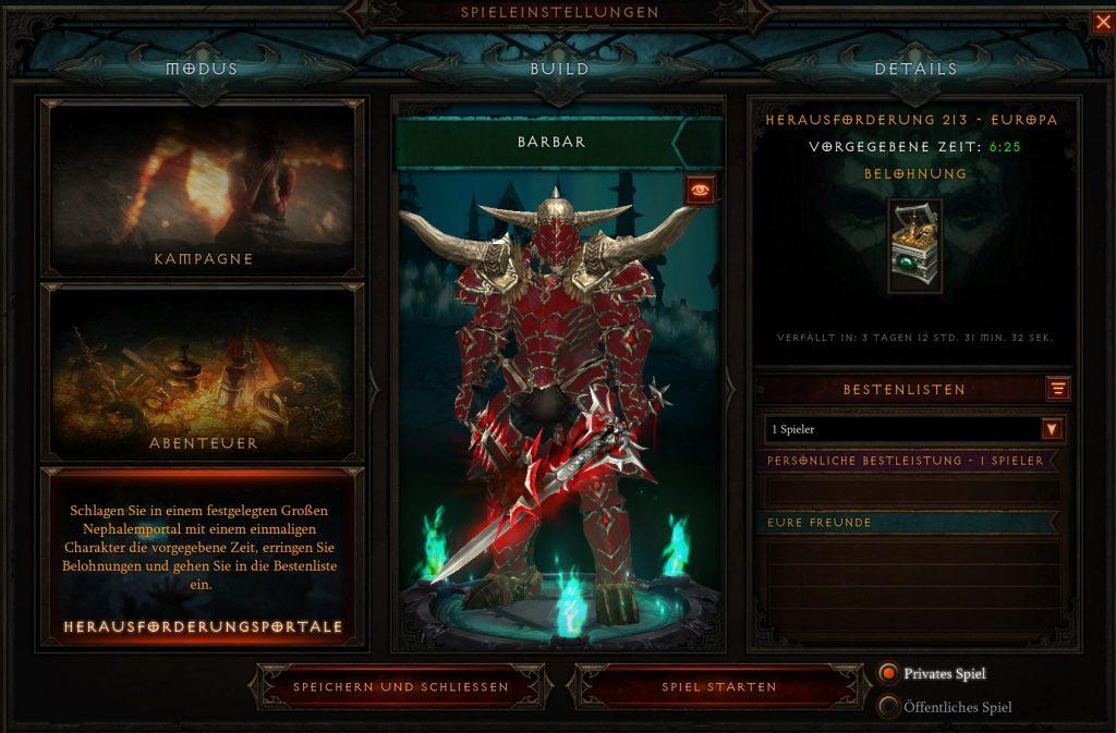 Diablo 3 Challenge Rift Season 24