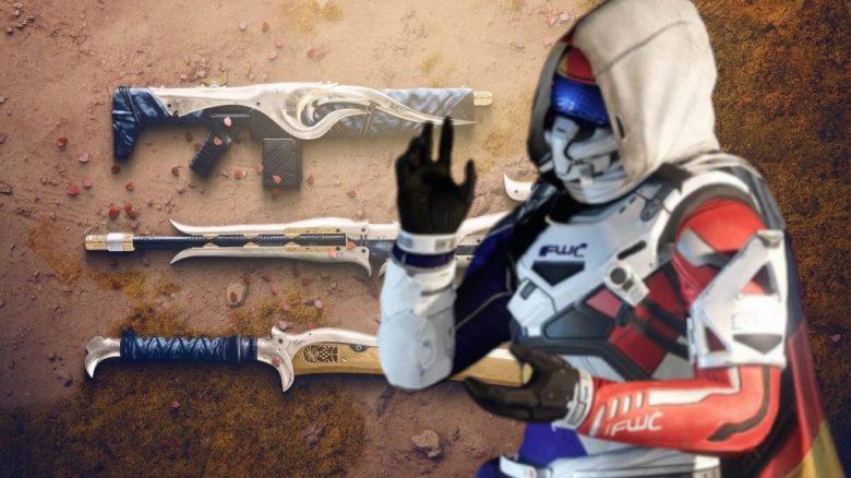 Dreaming City Waffen Destiny 2 Titel