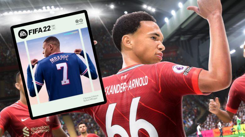 FIFA 22 Alexander Arnold Jubel Mbappe Cover