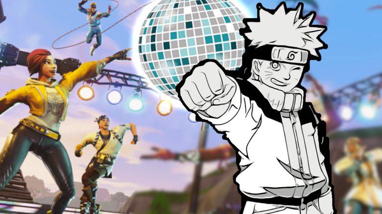 Fortnite Naruto Konzert