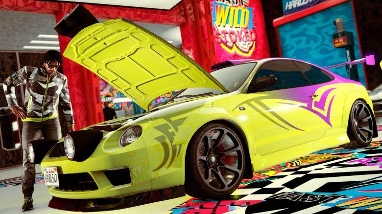 GTA Online Fahrzeug Auto Titel