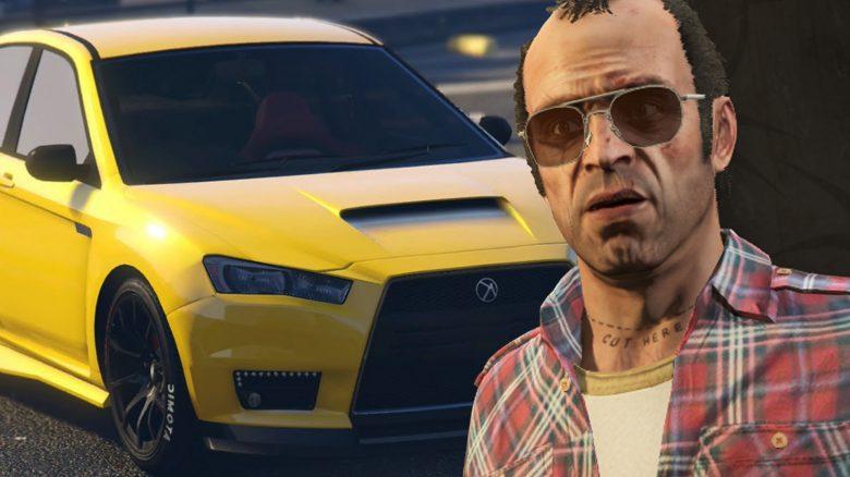 GTA Online Kuruma Trevor Titel