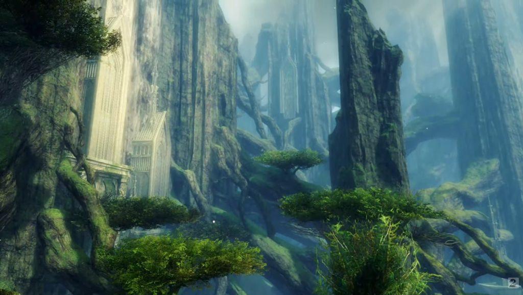 GW2 End of Dragons Landschaft