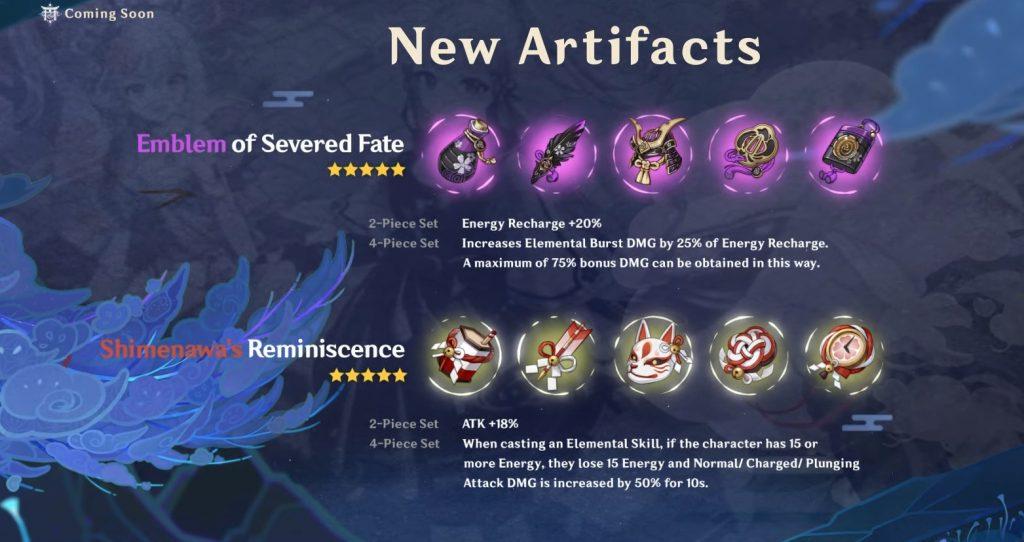 Genshin Impact Artefakte 2.0