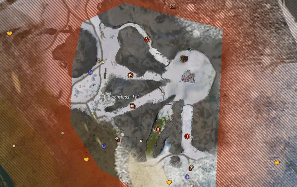 Guild Wars 2 Marionette Map