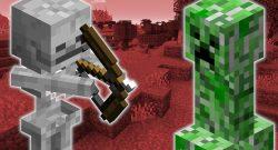 Minecraft Creeper Skeleton titel title 1280x720