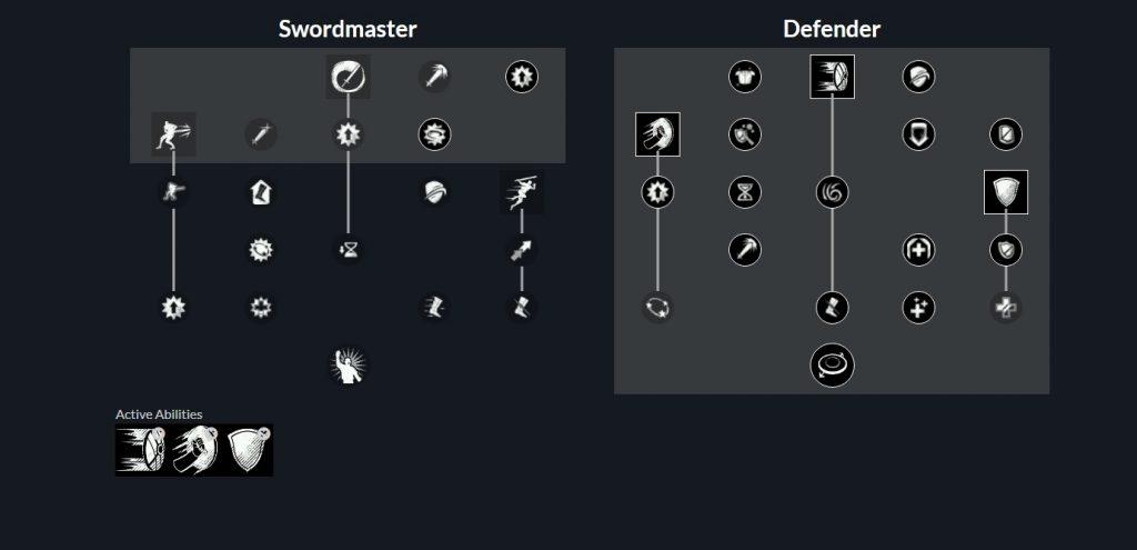 New World Dungeon Tank Schwert