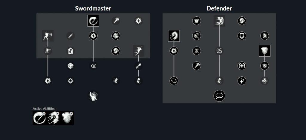 New World Dungeon Tank Schwert+Beil