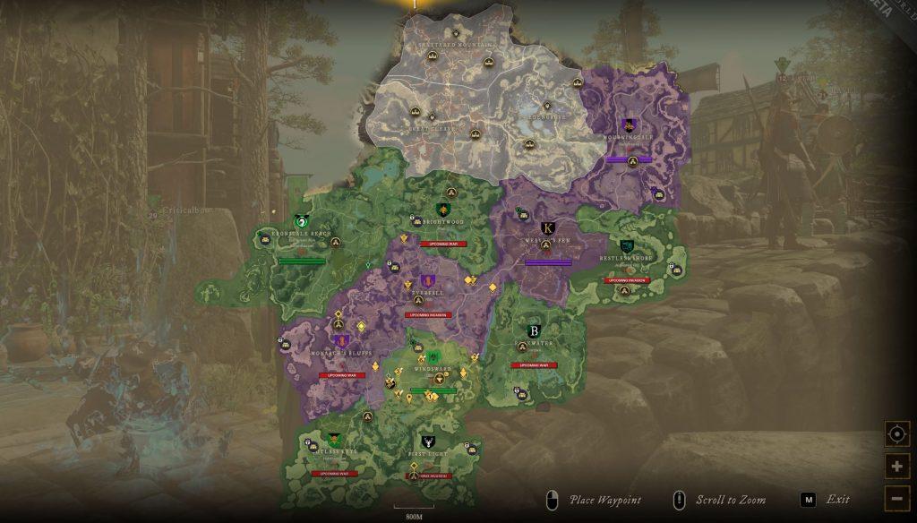 New World Map Syndikat Marodeure