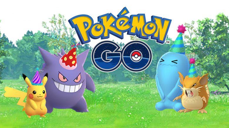 Pokémon GO: Heute startet die Jubiläumsfeier zum 5. Geburtstag – Alle Infos zum Event