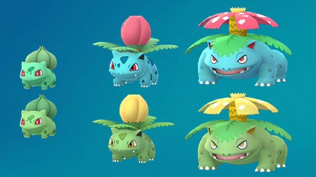 Pokemon GO Bisasam Shiny