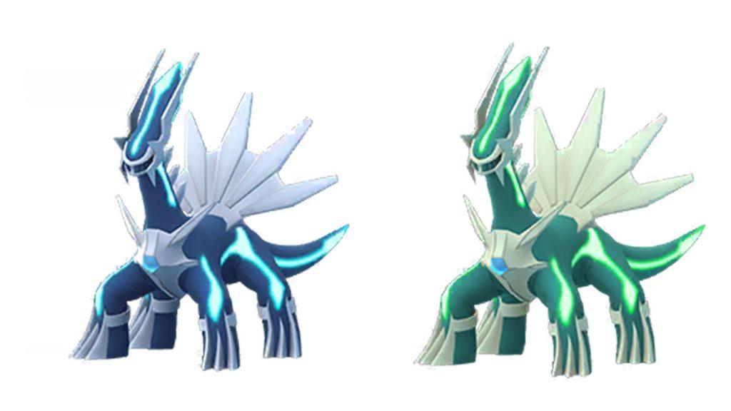 Pokémon GO Dialga Shiny