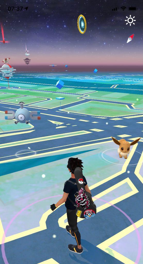 Pokemon GO Hoopa Ringe