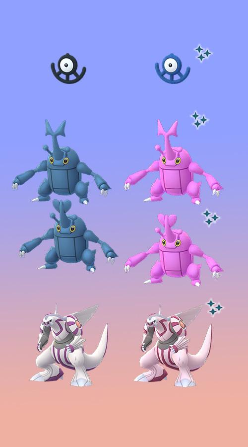 Pokémon GO Hyperbonus 2 Shinys