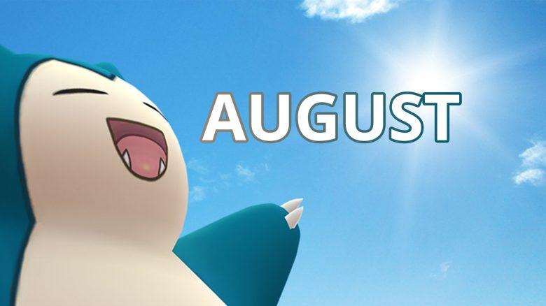 Pokémon GO Relaxo August Titel