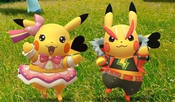 Pokémon GO Rock Star Pop Star Pikachu