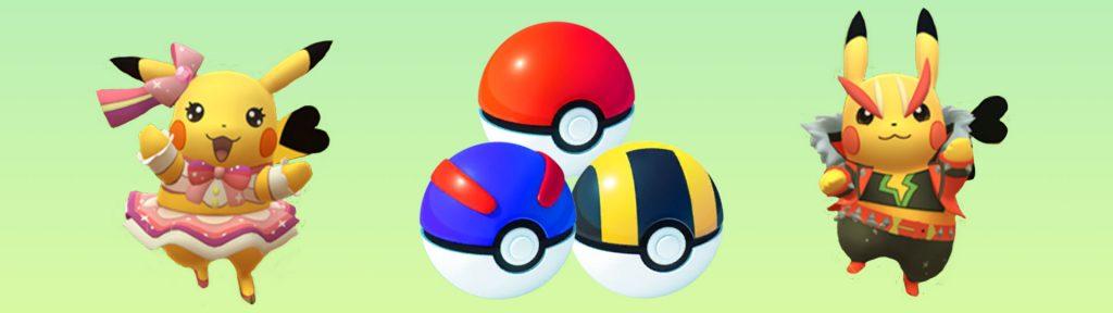 Pokemon Go Fest Pokebälle