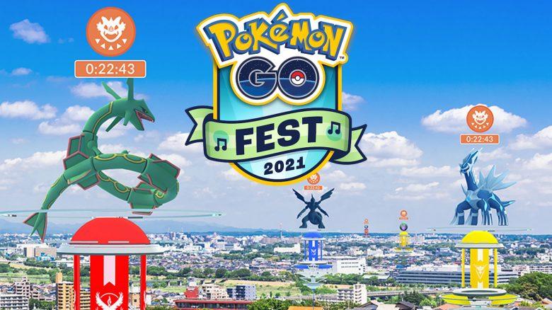 Pokemon Go Fest Raids