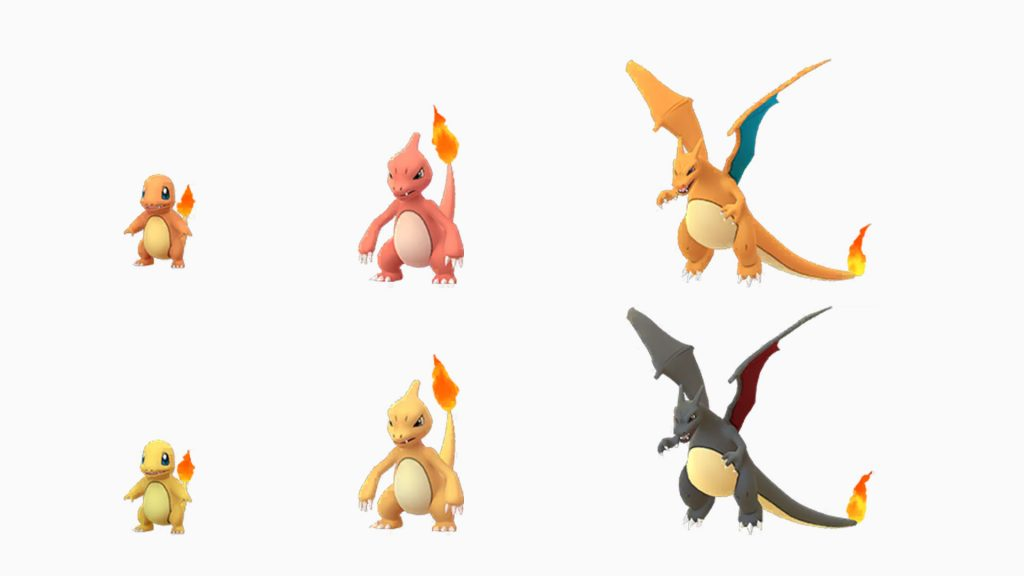 Pokemon Go Glumanda Shiny