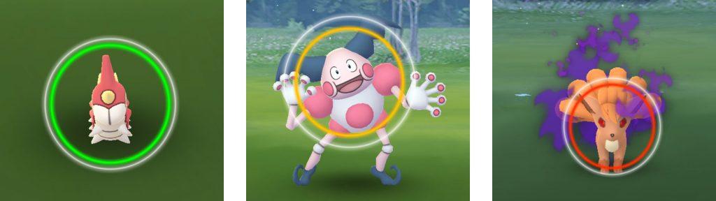 Pokemon Go Kreise Fangen