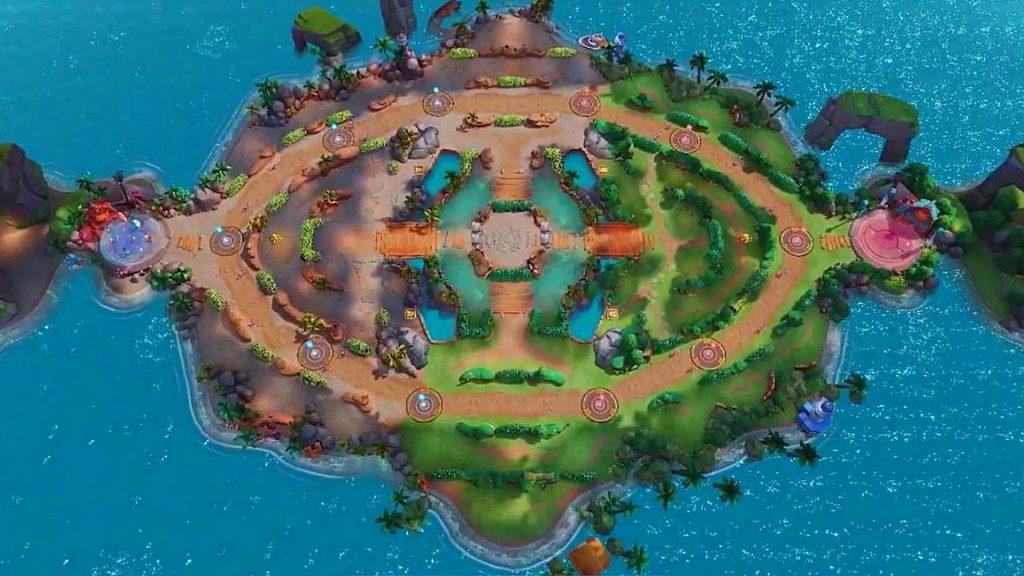 Pokemon Unite Map